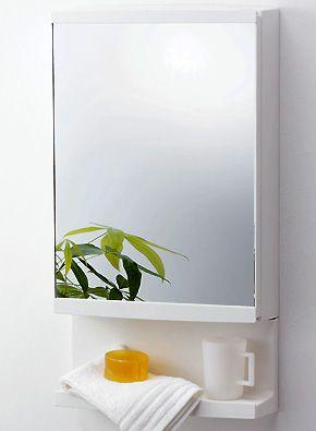 東プレ ミラーキャビネット  T-3246  さまざまな洗面小物が収納出来るトレイ大・小と扉ポケット付き。 扉ポケットには電動ハブラシも収納可能。はずせるのでお手入れが簡単です。 洗面所だけでなく、浴室でも使用できます。