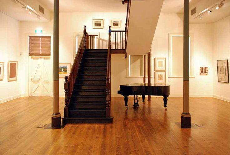 The magnificent interior of the Broken Hill Regional Art Gallery   Broken Hill City Council
