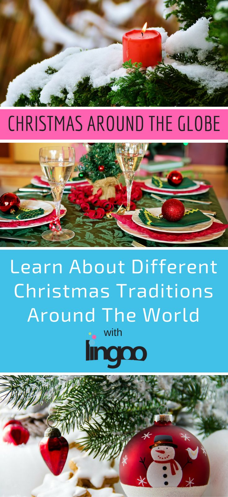 Christmas is a big deal in lots of countries around the world, but different places have different traditions. Click through to read about them | #christmas #christmastraditions #merrychristmas #culture #culturelovers #culturefan #cultureaddict #newculture #foreignculture #france #germany #italy #mexico #brazil