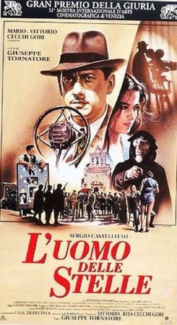 L'Uomo delle Stelle, diretto da Giuseppe Tornatore, 1995. Gran Premio della Giuria alla 52ma Mostra internazionale Cinematografica di Venezia.
