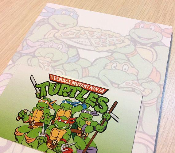 Teenage Mutant Ninja Turtles Notepad and Magnet Set