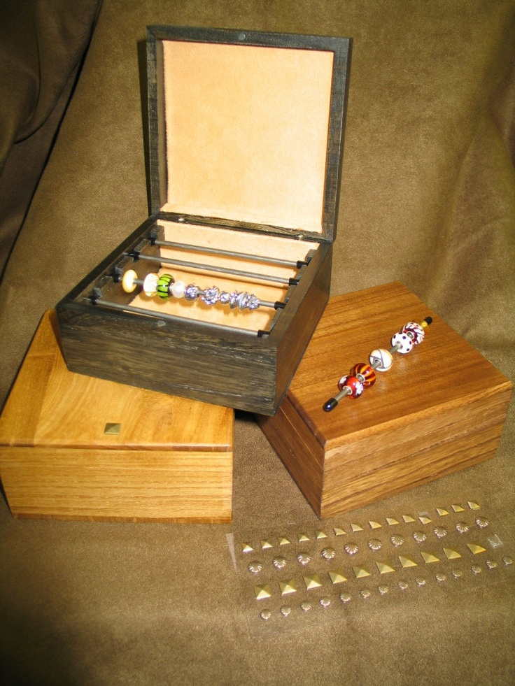 Troll Pandora Bead Storage Box With Display Rods Other