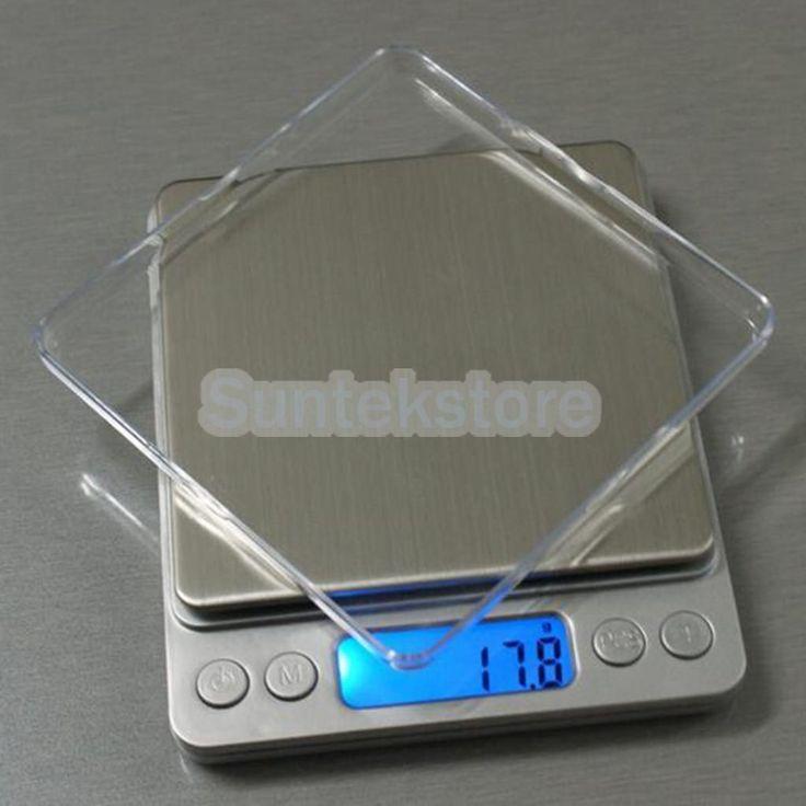 Digital Display Jewelry Gram Scale Kitchen Food Weight Balance 5 Sizes Measure