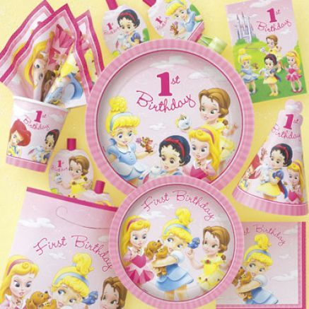 I've been looking for party supplies for the toddler princesses!