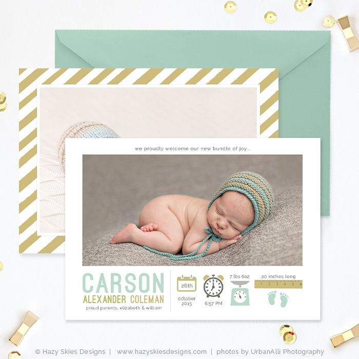 20 best images about free templates for photographers on for Free online birth announcements templates