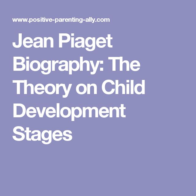 jean piagets theory on child dvevelopment Angela oswalt morelli , msw, edited by c e zupanick, psyd jean piaget first published his theory of child development during the 1920's but his work did not.