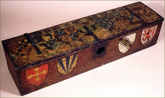 English Decorative Chest - Medieval period