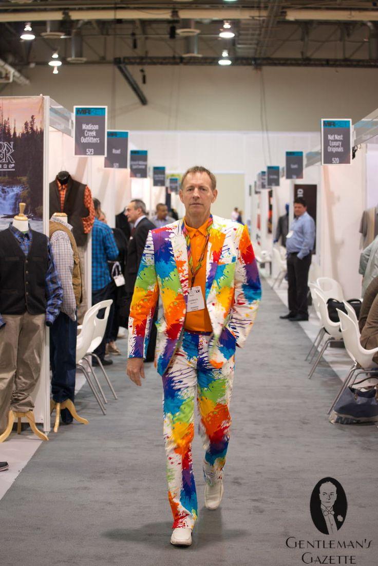 The rainbow suit