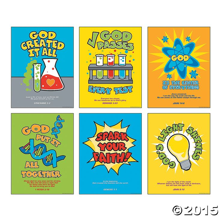 VBS-Divine Discoveries Poster Set 6 Pk Party Supplies Canada - Open A Party