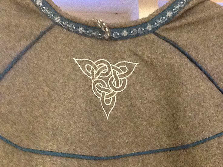 Lukka norrøn ornamentikk. Samisk duodji