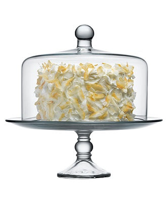 Just got one of these! Fantastic and stylish way to keep cake from drying out!