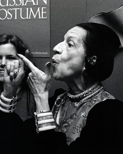 Diana Vreeland - a real wonder fashion heroine!