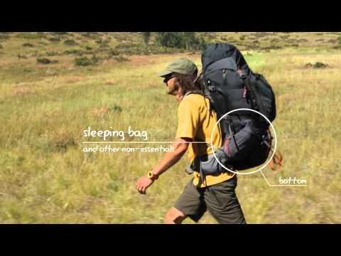 Backpacking Expert Advice: How to pack a backpack