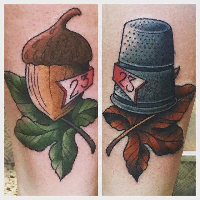 21 Adorable Couple Tattoos Inspired By Disney