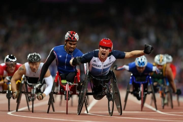 !: London 2012, Gold Medal, British Sportsmen, David Weir, 2012 Games, Famous Sportsman, 2012 Paralymp, 1500M Paralymp, Paralymp Gold