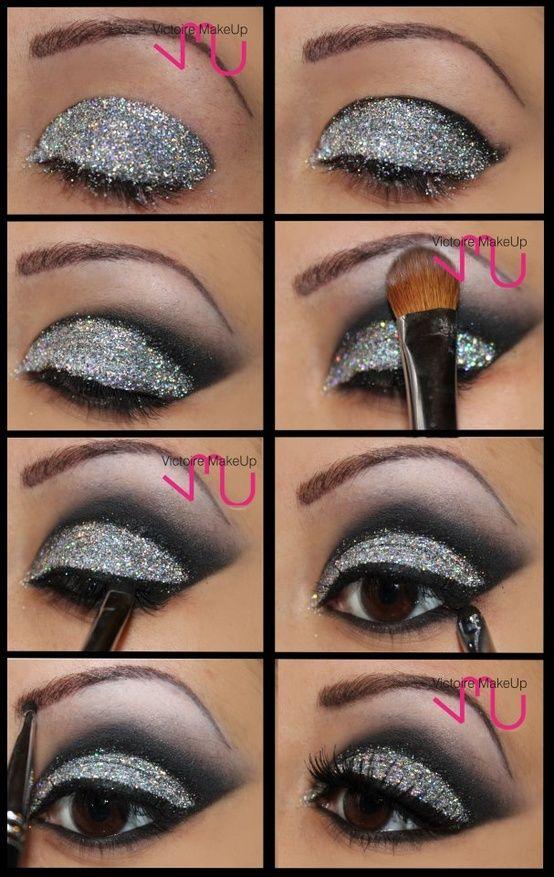 Glitter eyes. - Glitter eyes.  Repinly Hair  Beauty Popular Pins