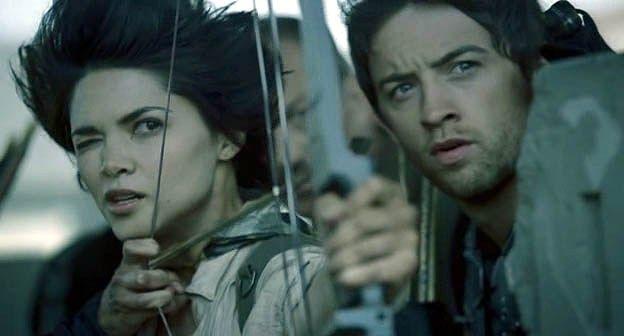 """Zombie Apocalypse"" (2011) Lilan Bowden #TheAsylum #Syfy #Zombie #ZombieApocalypse #MinervaPictures #LilanBowden"