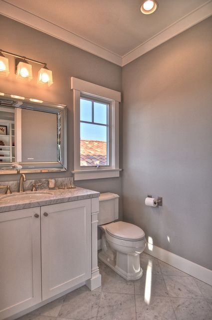 Master bath color scheme white and gray with silver for Black and silver bathroom sets