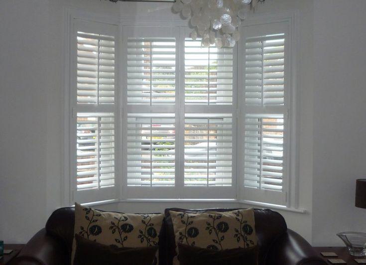 25 best ideas about plantation blinds on pinterest for Shutter window treatment ideas