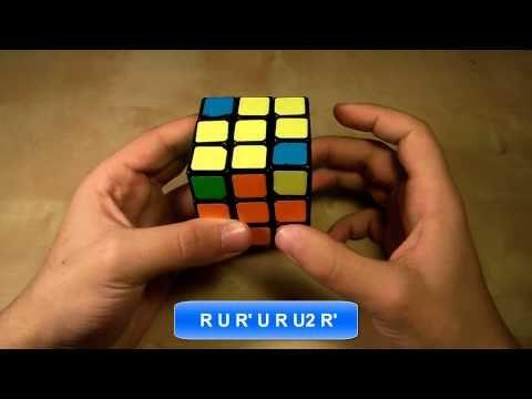 Πώς να λύσετε τον κύβο του Ρούμπικ Μέρος Δ' - YouTube