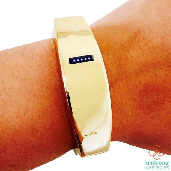Fitbit Bracelet for Fitbit Flex Fitness Trackers - The TORY INSIGHT Hinge Bangle Fitbit Bracelet  *5 colors & 3 sizes available!*  *The