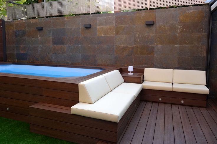 Resultat d'imatges de piscinas terraza