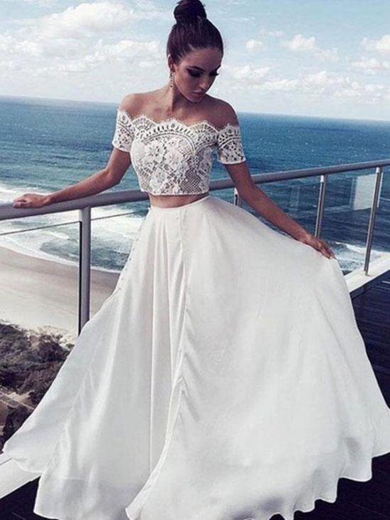 b60666928 Vestido de noiva praia: 53 modelos e ideias para amar! | Vestidos ...