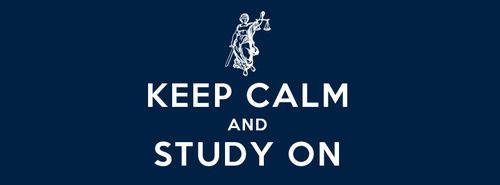 Keep calm and study on!