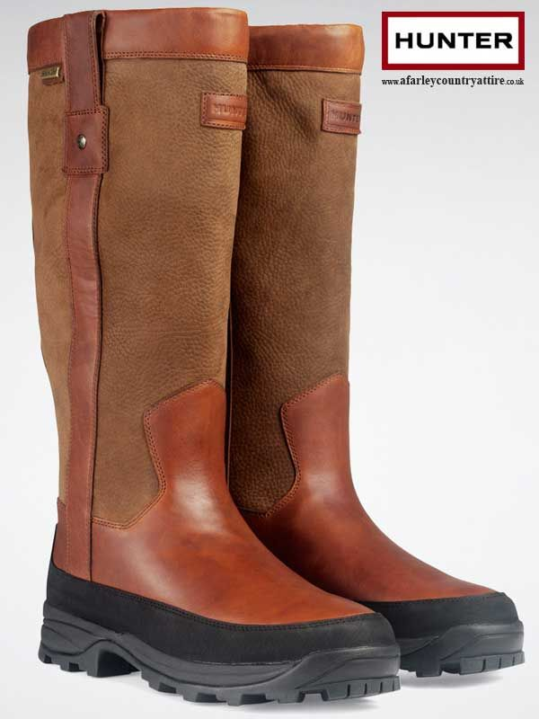 Hunter Boots - Balmoral Hawksworth - Brown Leather