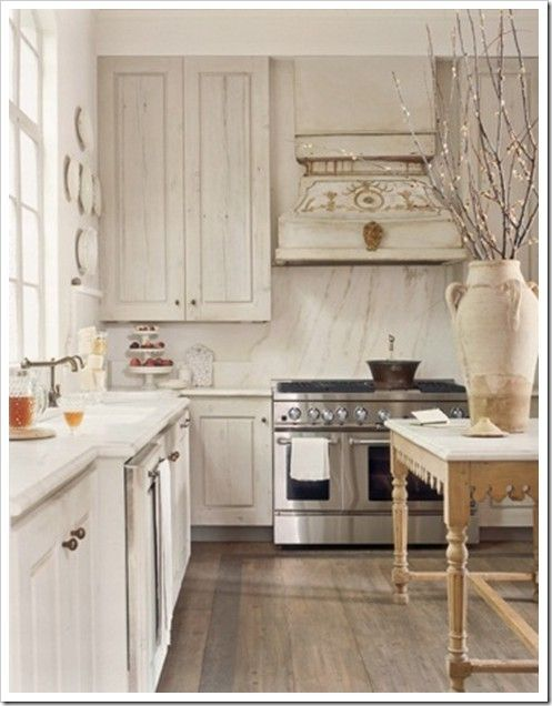 Whitewash Cabinets By Nikkipw