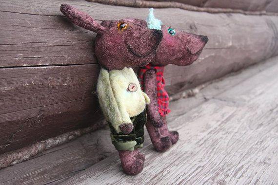 Prosha  kid or interior toy Teddy bear style от CraftNonstop