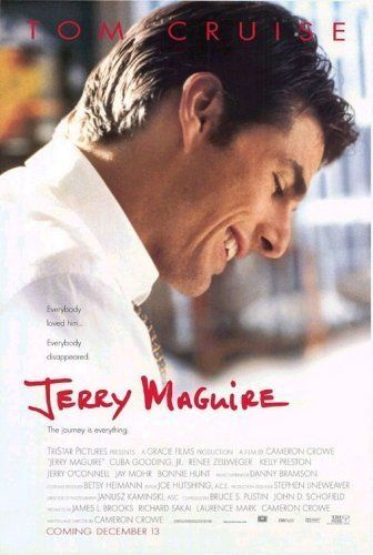 "Jerry Maguire (1996) - Since I'm Tom Cruise and Tom Brady is from both of us I can use all of Tom's movies and his lines. Now ""SHOW ME THE MONEY"" is suppose to bring me my money!"