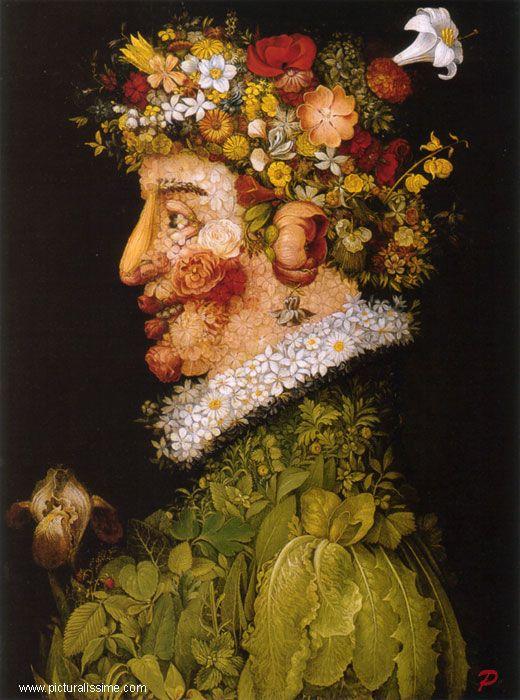 Le printemps, Giuseppe Arcimboldo