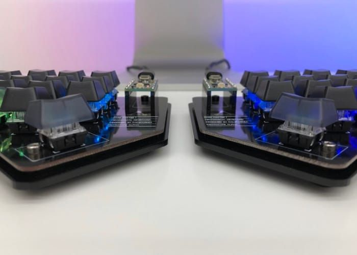 162faa780dd A new split mechanical keyboard has launched via Kickstarter this week in  the form of the RIFT, designed to provide an ergonomic split keyboard that  can be