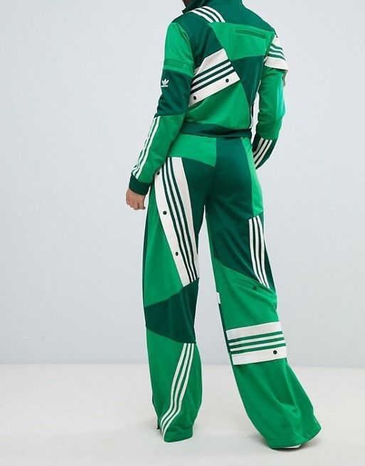 caafe51eec9 ADIDAS ORIGINAL DANIELLE CATHARI DECONSTRUCTED TRACK PANTS Green Size :S  #fashion #clothing #shoes #accessories #womensclothing #activewear (ebay  link)