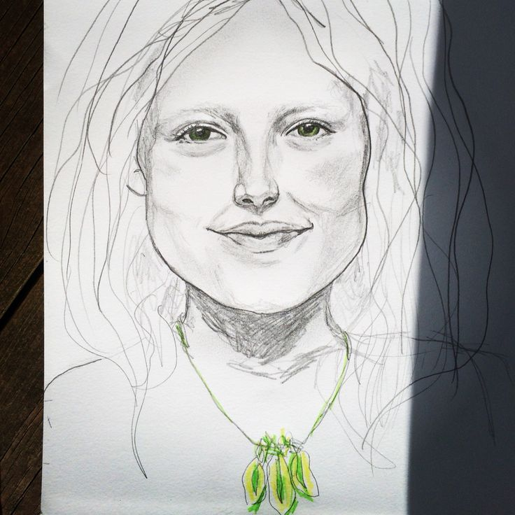 #drawing #portrait #girl #Kjerstidirdal
