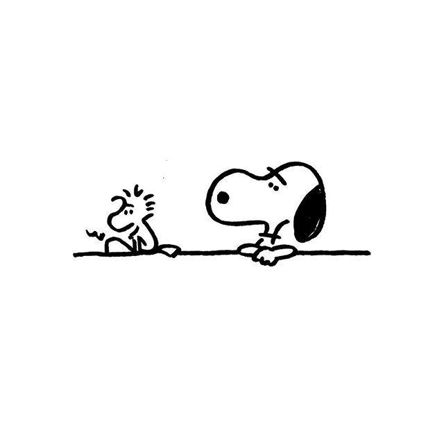 Snoopy & Woodstock. #snoopy #woodstock #yunagaba #kaerusensei #長場雄