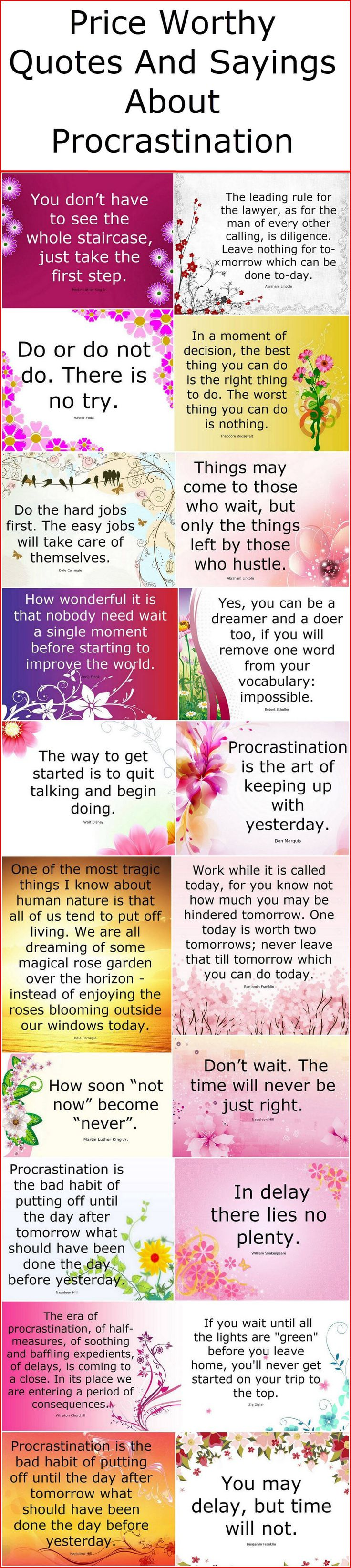 the reasons behind our procrastination The truth behind why we procrastinate  procrastination is the habit of putting off important,  or for any of the aforementioned reasons.