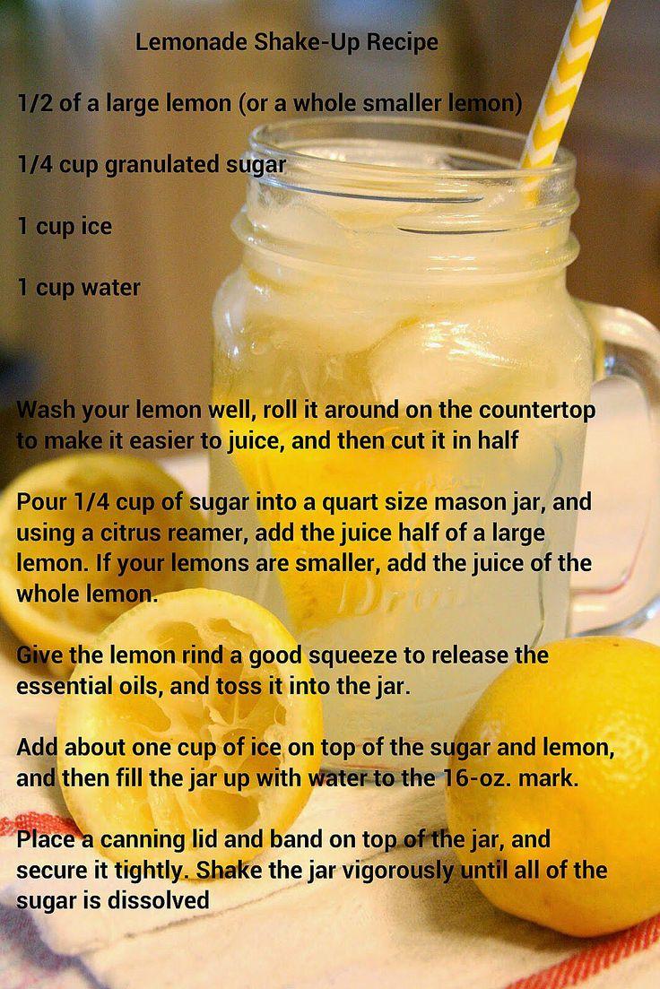 Lemonade Shake-up