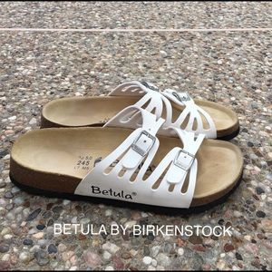 I just added this to my closet on Poshmark: Betula Sandals by Birkenstock US size 7. Price: $60 Size: 7