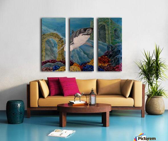 tropical decor, Triptych