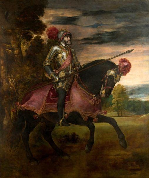 Tiziano. Carlos V en la Batalla de Mühlberg - Colección - Museo Nacional del Prado