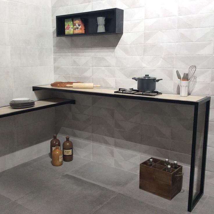Diseño de Azulejos para la Cocina #cevisama2016 #keraben #reformasdecocinas #diseñodecocinas #cocinas #mueblesdecocina #decoracion #azulejos #arquitectura #instagram #inspiracion @keraben.tile by linea3cocinas