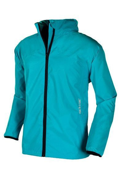 Junior Lightweight Rain Jacket: Turquoise