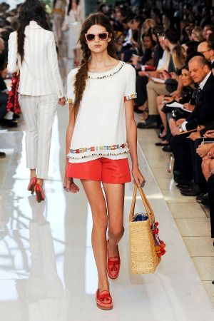 Tory burch spring 2013 look 2