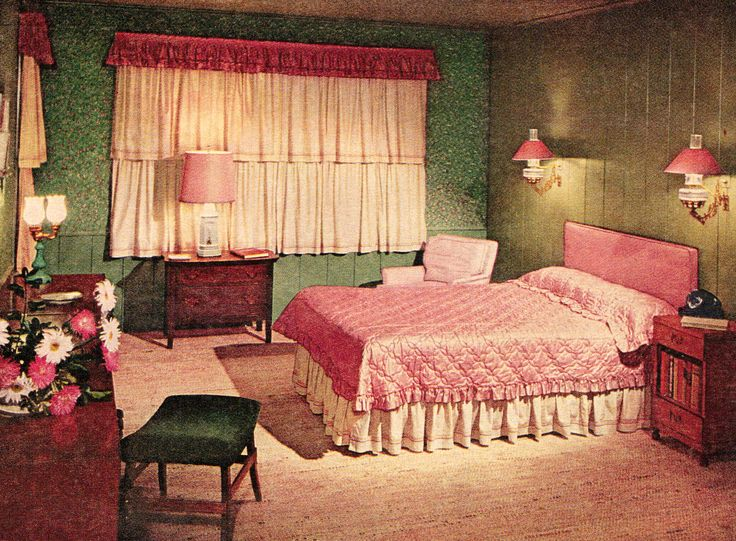 25 Best Images About Retro Bedroom On Pinterest