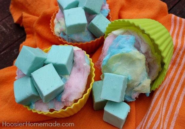 how to make cotton candy fudge