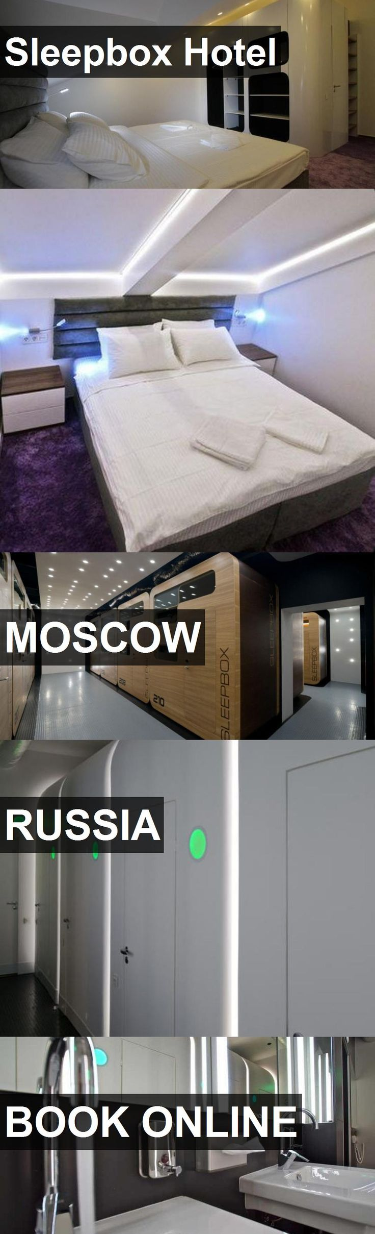 Sleepbox Hotel in Moscow, Russia. For more information, photos, reviews and best prices please follow the link. #Russia #Moscow #travel #vacation #hotel