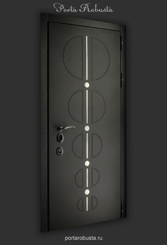 Элитная металлическая дверь в квартиру на заказ в Москве Evolution Fashion
