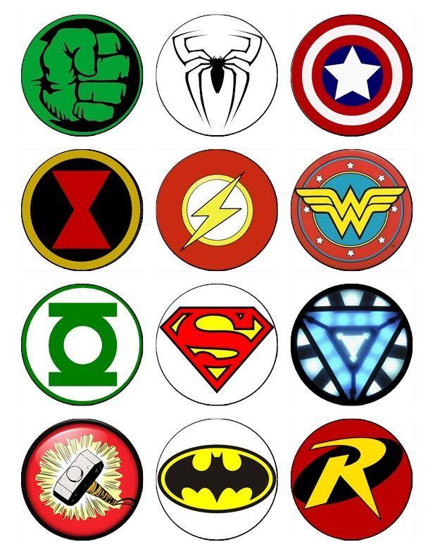 Супергерои картинки для печати